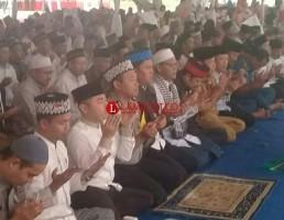 Polres Pesawaran Gelar Istighosah dan Doa Bersama untuk Pilkada Lampung Aman Dan Lancar