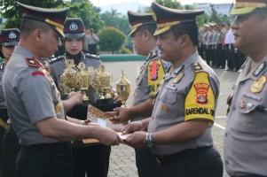 Polres Pesawaran Juara II Pos Pengamanan Ops Lilin Krakatau 2018