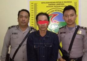 Polres Pesawaran Kembali Bekuk Bandar Sabu