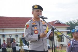 Polres Pesawaran Peringati Hari Kesadaran Nasional