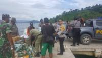 Polres Pesawaran Salurkan Bantuan Korban Tsunami ke Pulau Legundi