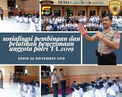 Polres Pesawaran Sosialisasikan Penerimaan Calon Anggota Polri