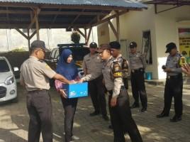 Polres Tanggamus Galang Dompet Kemanusiaan Korban Gempa Lombok