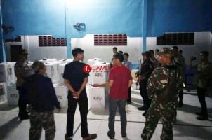 Polres Tuba dan TNI Gelar Patroli Gabungan Pengamanan Pemilu di Tubaba