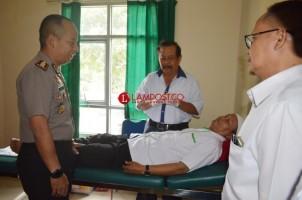 Polres Tuba Sambut HUT RI ke-73 dengan Bakti Kesehatan