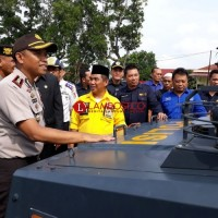 Polres Tulangbawang Teken Fakta Integritas Pemilu Damai 2019