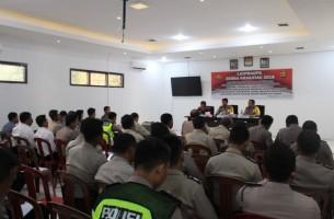 Polres Way Kanan Gelar Lapra Operasi Zebra Krakatau 2018