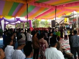 Polres Way Kanan Gelar Tablig Akbar  Sambut Pemilu 2019