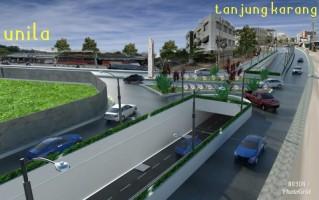 Polresta Bandar Lampung Belum Terima Undangan Rapat Rekayasa Lalu Lintas Underpass