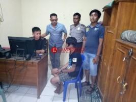 Polsek Abung Selatan Tangkap DPO Curanmor