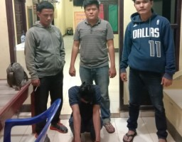 Polsek Abung Timur Tangkap DPO Kasus Pencurian Kelapa Sawit