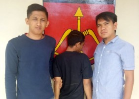 Polsek Baradatu Tangkap DPO Kasus Pencurian