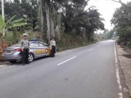 Polsek Bukit Kemuning Gelar Patroli di Jalinbar