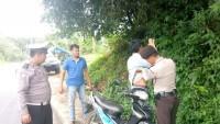 Polsek Bukit Kemuning Gelar Razia Pengendara di Jalinbar