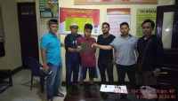 Polsek Bukit Kemuning Tangkap Pengedar SabuSaat Transaksi