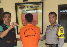 Polsek Gadingrejo Ringkus Pemuda Penyalahguna Narkoba Saat Melakukan Transaksi