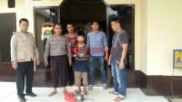 Polsek Sungkai Utara Amankan Remaja Pembobol Rumah