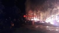 Pondok Pesantren Ushuludin di Penengahan Terbakar