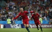 Portugal vs Spanyol, Ronaldo Cetak Hattrick di Piala Dunia