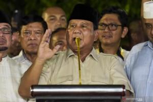 Prabowo Ingatkan Pendukungnya Tak Terprovokasi