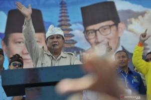 Prabowo Minta Pendukungnya Tegar Jika Difitnah