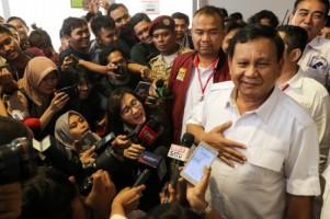 Prabowo Sambangi Lampung Panaskan Mesin Partai