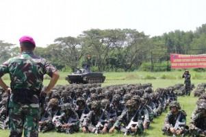 Prajurit Petarung Harimau Sumatera Selesai Ikuti Latihan Satuan Lanjutan