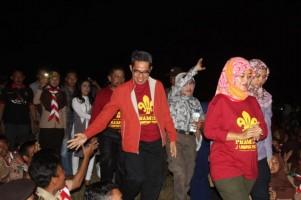 Pramuka Kabupaten Lamtim Antihoaks Kata Bupati Chusnunia