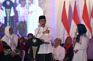 Presiden Ingatkan Pentingnya Jaga Persatuan dan Kesatuan