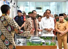 Presiden Resmikan Pengembangan Bandara Tjilik Riwut Palangkaraya