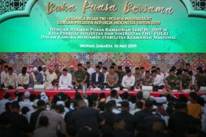 Presiden Teken PP THR dan Gaji ke-13 TNI-Polri