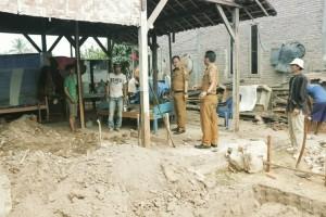 Program Bedah Rumah di Pringsewu Barat Sudah Berjalan 60 Persen