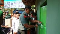 Program Peduli Lingkungan, Babinsa Bangun Rumah Warga Kurang Mampu di Sidomulyo
