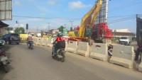 Progres Pembangunan Flyover Untung Suropati Sudah 10 Persen