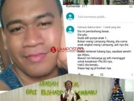 Provokatif, Pemilik Akun Facebook Dilaporkan ke Polres Lampura