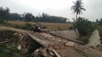 Proyek Box Culvert di Way Sulan Mangkrak