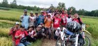 PSI Tubaba Touring Keliling Desa Sosialisasi Caleg-Capres Pilihan