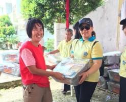 PSMTI Lampung Bagikan Paket Sembako