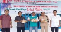 PT BSSW I Kibang Budi Jaya Bagikan 800 Paket Sembako