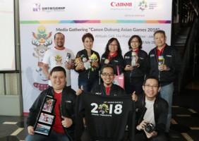 Dukung Asian Games, PT Datascrip Siapkan Cendera Mata Spesial