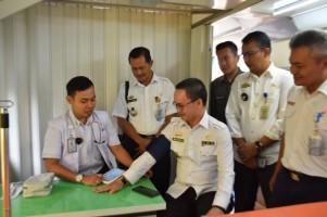 PT KAI Gelar Pengobatan Gratis di Stasiun Blambangan Umpu
