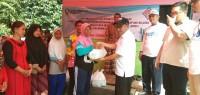 PT. Pusri Salurkan Bantuan untuk Korban Tsunami