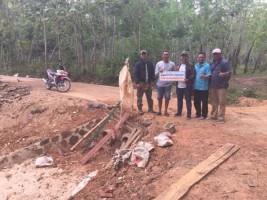 PTPN VII Bantu Bangun Desa di Lamsel