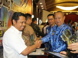 PTPN VII Kantongi Anugerah Keterbukaan Informasi