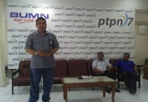 PTPN VII Memulai Teknologi E-Farming