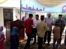 PTPN VII Santuni Anak Yatim Way Lima