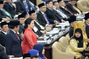 Puan Maharani Ketua DPR Perempuan Pertama di Indonesia