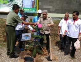 Pulihkan DAS, PLN-Rimbawan Gelar Tanam Pohon