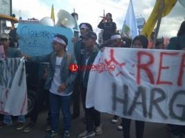 Puluhan Massa Gelar Aksi Peringati 20 Tahun Reformasi