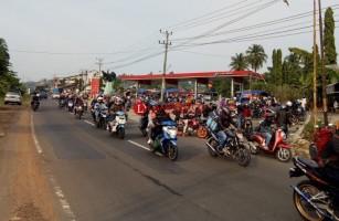 Puluhan Ribu Pemudik Motor Tiba di Pelabuhan Bakauheni